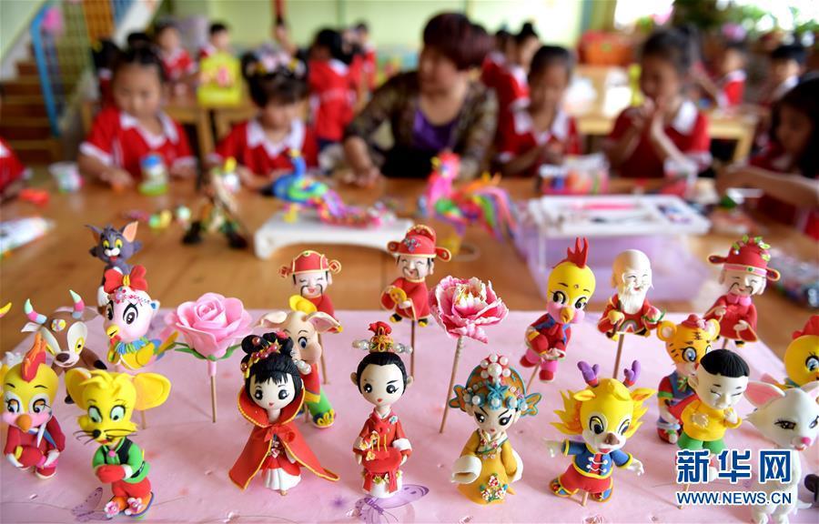 (教育)(1)河北衡水:傳統文化潤童心