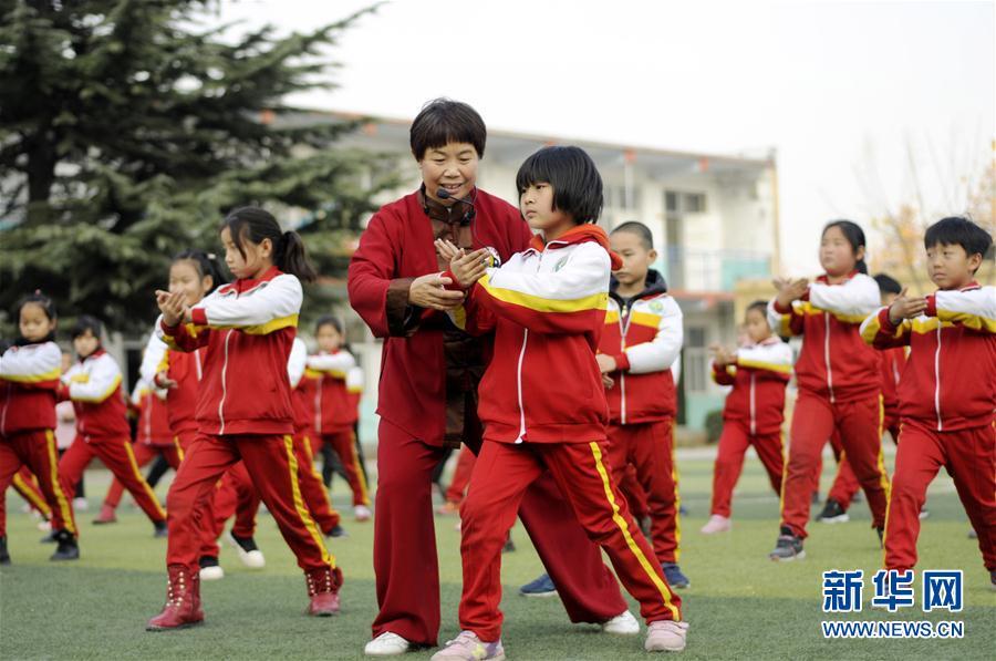 (教育)(1)河北邢臺:傳統文化進校園