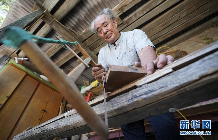 (文化)(5)雄安农民用手工木船打造白洋淀记忆