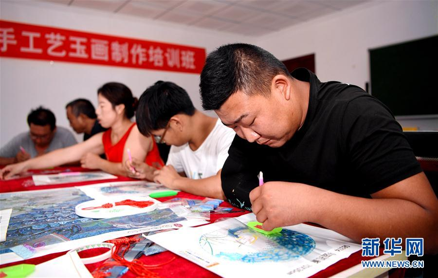 (社会)(1)河北安次:残疾人培训基地助力就业扶贫