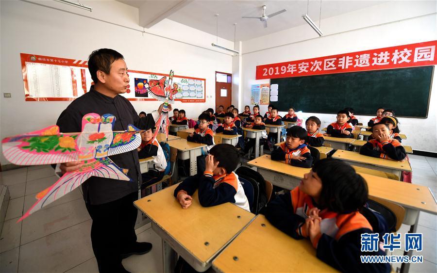 (教育)(2)河北廊坊:非遗进校园