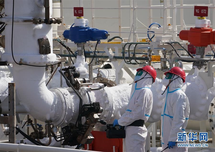 (社會)(3)河北曹妃甸:全力推動京津冀天然氣冬季保供工作