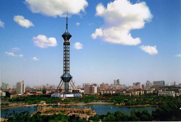 亚洲第一高的钢结构电视塔