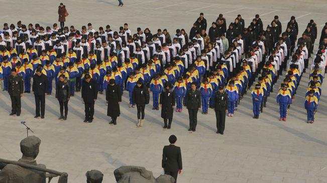 抗大陳列館舉行公祭活動 在祭奠中銘記歷史