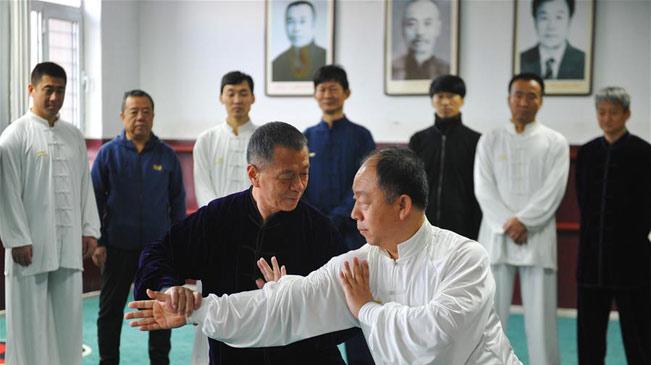 拳師王志海義務授徒四十余載弘揚傳統武術