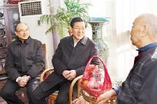 省领导春节走访慰问
