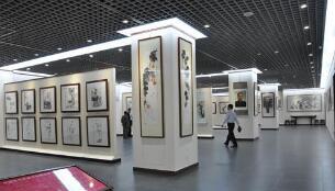 颜景龙艺术馆在邯郸开馆