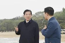 王东峰在秦皇岛调研