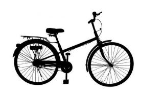 骑自行车郊游扎了带 过路司机暖心送一程