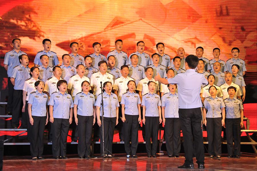 河北省司法行政戒毒系统开展纪念建党97周年系列活动