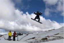 河北省为国家单板滑雪集训队选拔人才