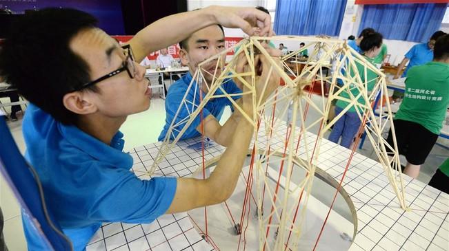 河北省大学生结构设计竞赛举行