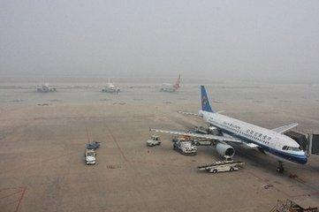 受天气影响,石家庄机场9个进港航班备降外场