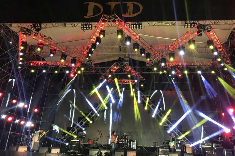 保定市第五屆大激店世界音樂節舉行