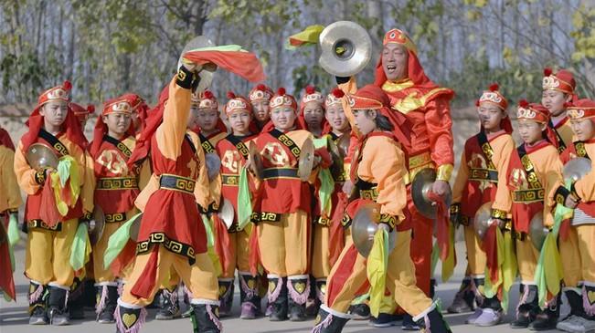 河北邢臺:非遺進校園 傳承傳統文化