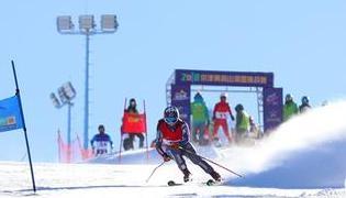 2018京津冀高山滑雪挑战赛在崇礼举行