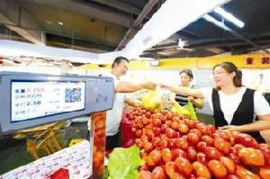 河北省目前改造新建便民市場198個