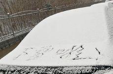 河北多地迎来今冬第一场雪