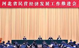 河北省民营经济发展工作推进会在石家庄举行