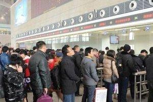 春运期间石家庄火车站预计发送旅客逾480万