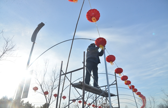 2019唐山南湖春節燈會係列活動于大年初一啟幕