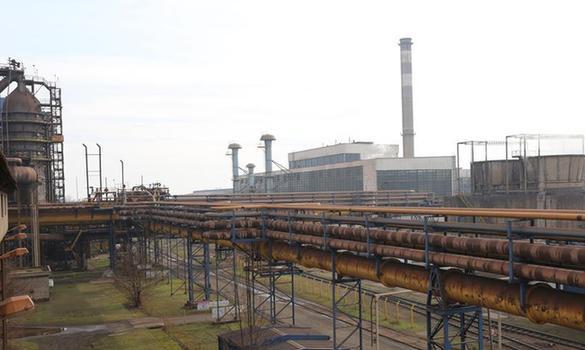 河鋼集團收購的塞爾維亞斯梅代雷沃鋼鐵廠