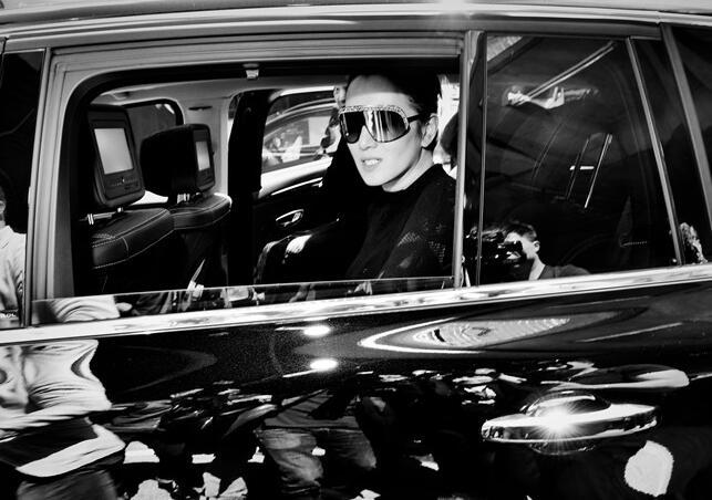 巩俐抵达戛纳 她的第十八次戛纳电影节之行开始了