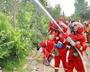 秦皇島:森林消防賽技能 提升森林火災撲救能力