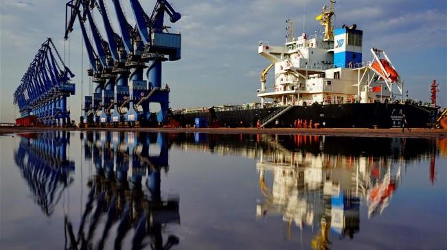 曹妃甸港區1至7月貨物吞吐量同比增長6.93%
