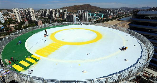 冬奧會張家口賽區建設項目年內收官
