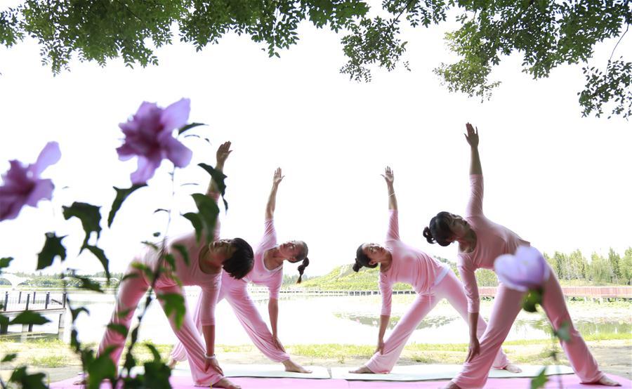 河北廣宗:公益瑜伽助力全民健身