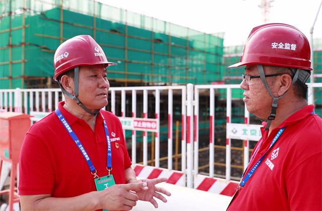 嚴把材料進場關 保障安置房建設質量
