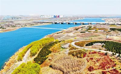 石家莊:滹沱河畔春光美