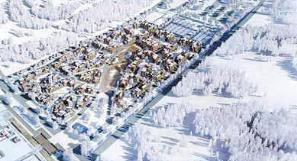 冬奧村完成基礎裝修