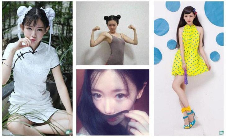 中国最美女汉子弥秋女怪兽超萌春丽照爆红