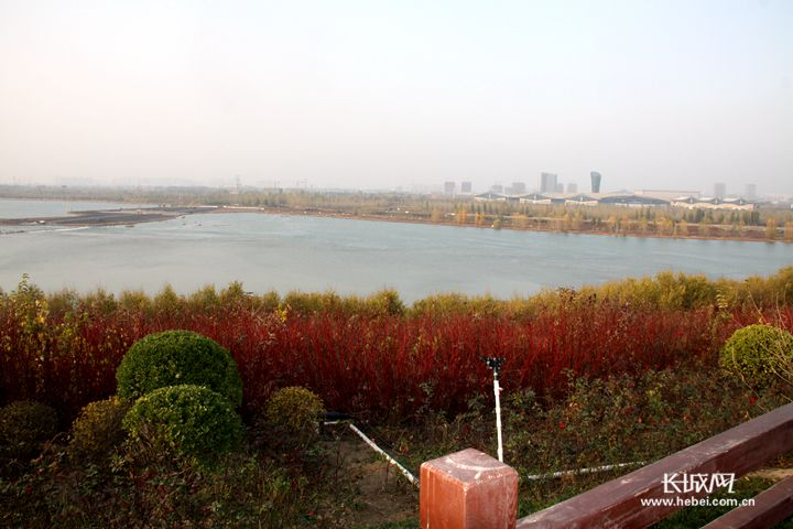 石家庄城区600万平方米区域融入了海绵设施