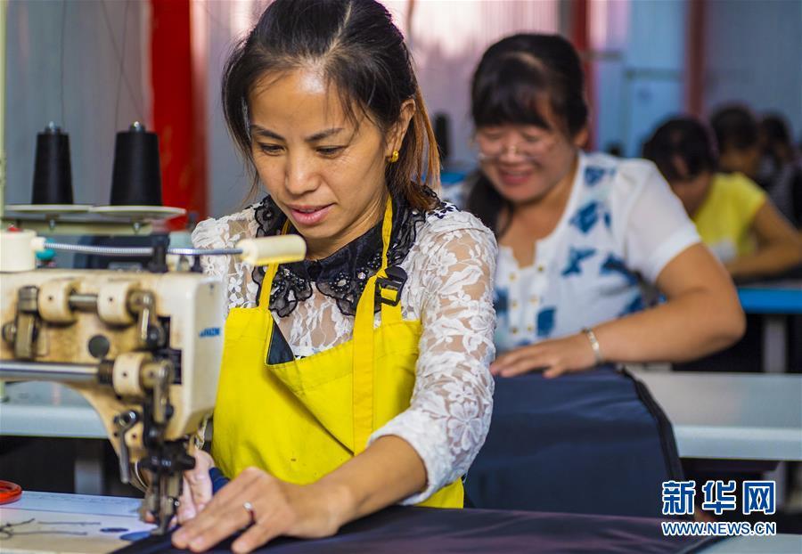 (经济)(1)河北武邑:就业扶贫带动脱贫