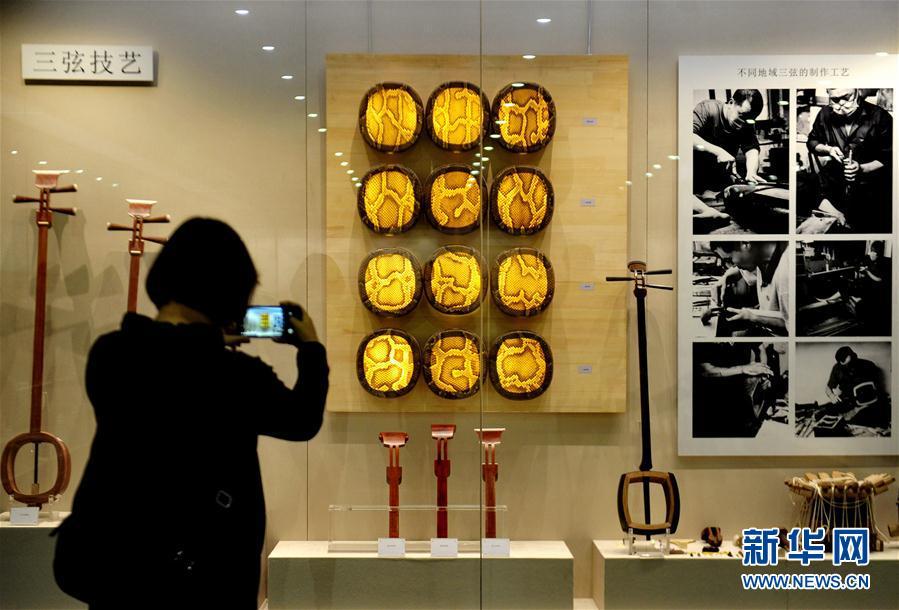 (社會)(1)河北肅寧:民族樂器聲悠揚