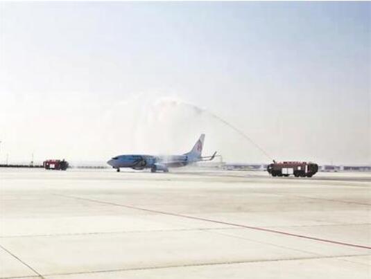27日北京大兴国际机场首个国际航班起飞