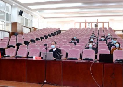 名仕亚洲学院3千余人线上听党课 师生集体共学习