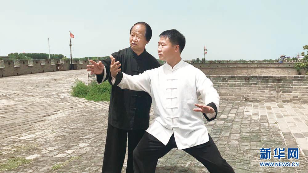 """杨振河:""""传承太极文化是我一生的使命"""""""