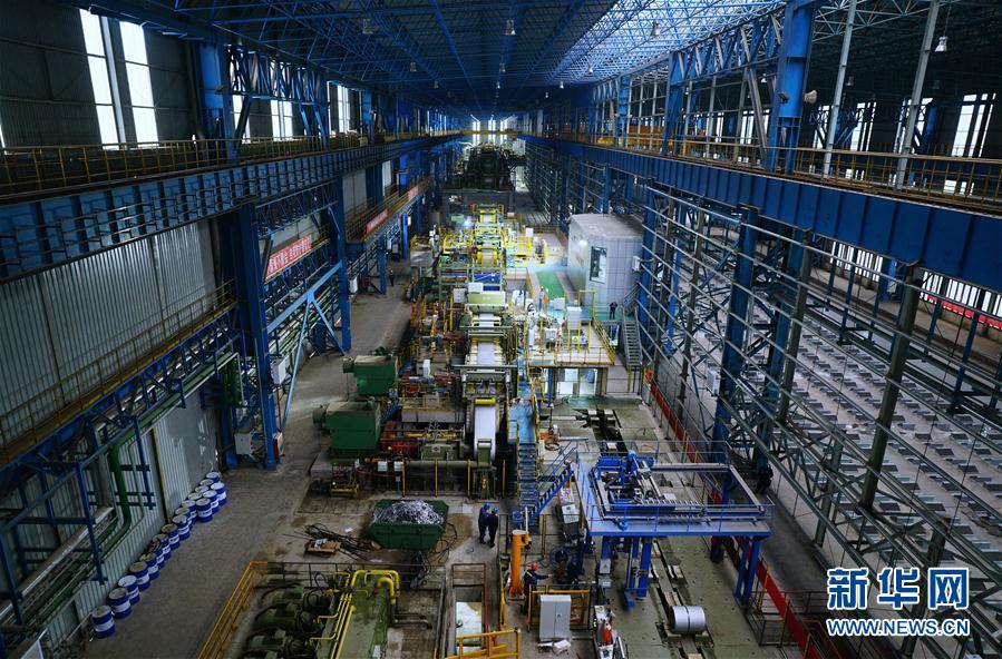 (經濟)(1)河北:首鋼遷鋼高端汽車板項目投産