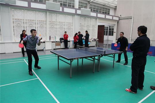 宁晋法院举办乒乓球比赛丰富业余生活