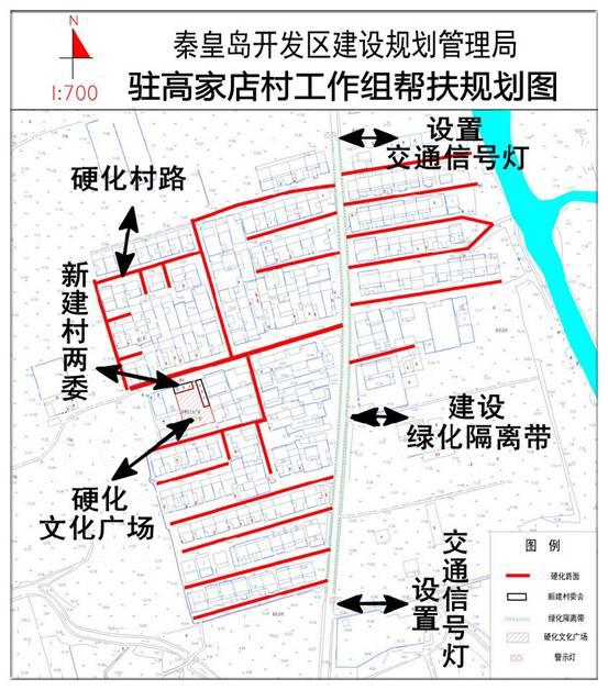 秦皇岛开发区:帮扶规划图 绘满爱民情