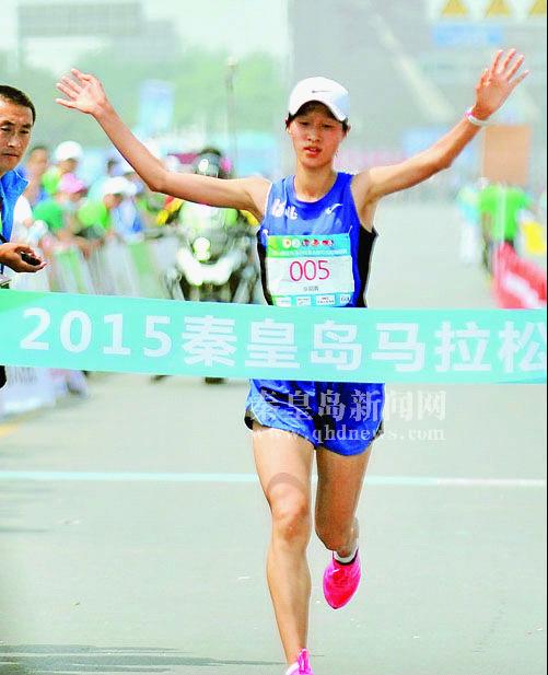 赛后感言:秦皇岛马拉松比赛的线路很好,而且都是靠着海边,风景线也