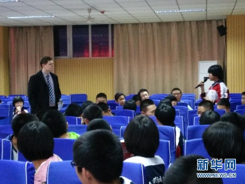石家庄一中东校区举办美式英语辩论赛暨英语口